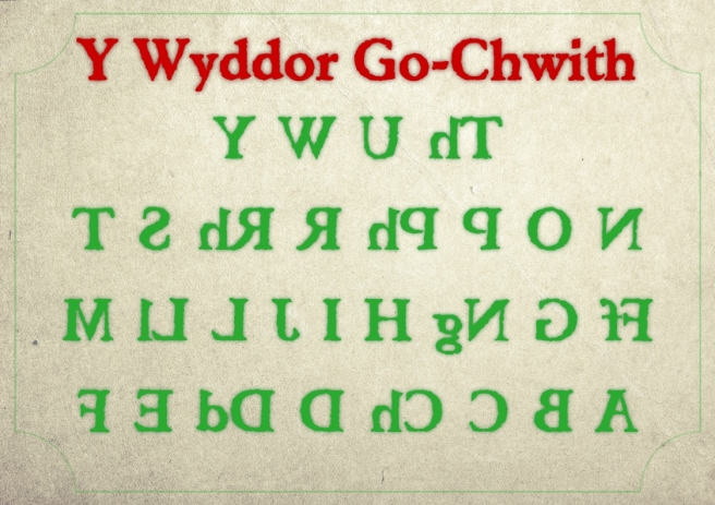 S51 Wyddor Go Chwith